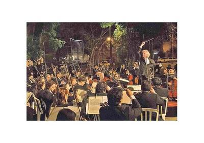 Concierto sinfónico gratuito y al aire libre en Zeballos Cué