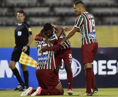 Fluminense y Liga van por los cuartos