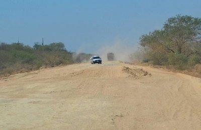 Desapareció asfaltado en Transchaco