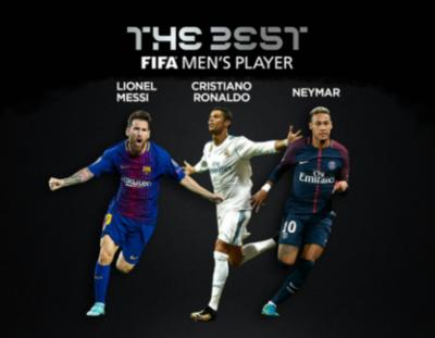 Candidatos al premio The Best de FIFA