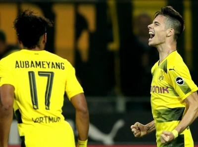 Borussia Dortmund goleó y es único líder en Alemania