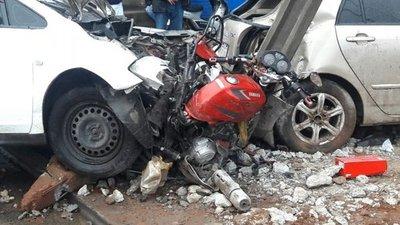 Cuatro jóvenes mueren en trágicos accidentes en Central