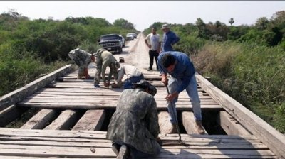 Bahía Negra: Arreglo de puente gracias a ciudadanía