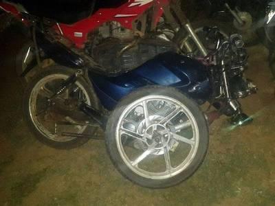 Motociclista muere en choque frontal