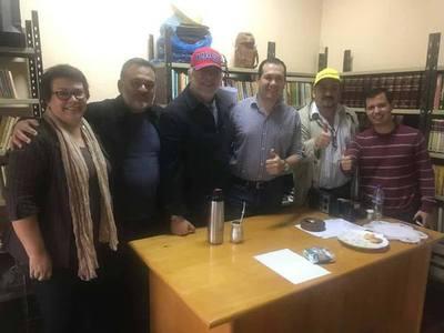FRENTE GUASÚ SE SUMA A LA ALIANZA Y DA PLENO RESPALDO A VÍCTOR CABRERA.
