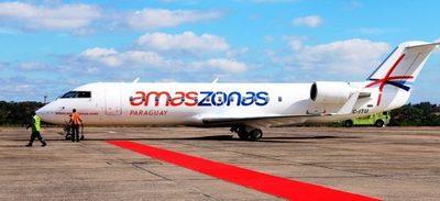 Ante auge de vuelos internos, Amaszonas lanza programa para viajeros frecuentes