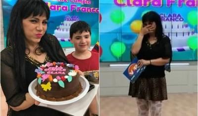 Clara Franco Y La Emotiva Sorpresa Que Recibió Por Su Cumpleaños