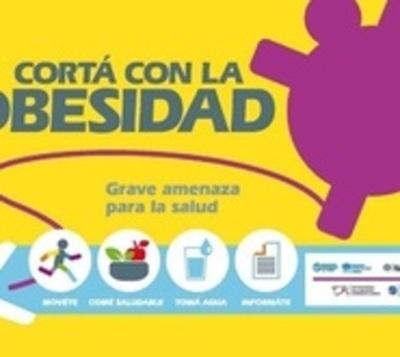 Salud inicia campaña nacional contra la obesidad