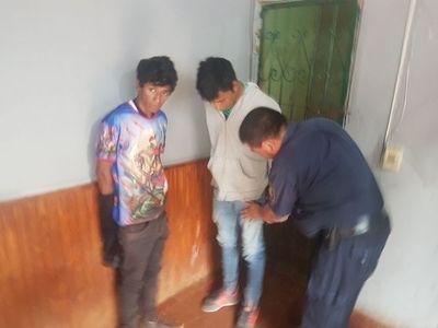 Piden prisión de presuntos motoasaltantes