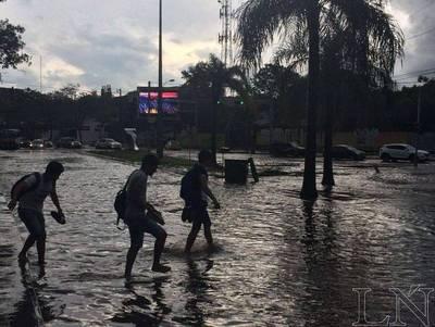 Anuncian tormentas para Asunción y Gran Asunción