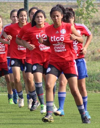 Albirroja Femenina volvió a los entrenamientos en el Comité Olímpico