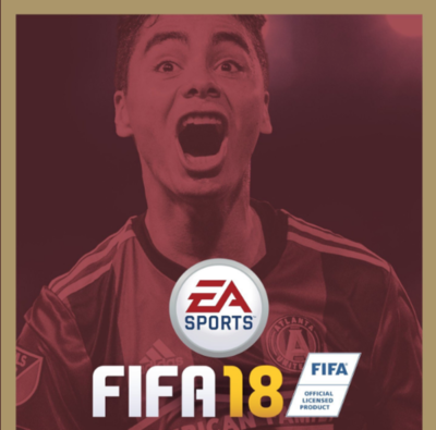 Miggy, portada de FIFA 18 en Estados Unidos