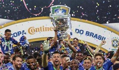 Cruzeiro conquista la Copa do Brasil y un puesto en la Copa Libertadores