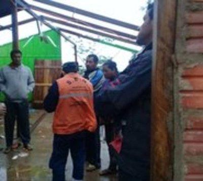 Coordinan acciones para asistir a departamentos afectados por temporal