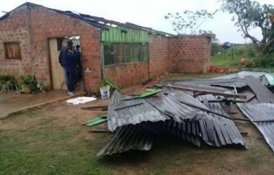 Coordinan tareas para asistir a familias afectadas por la tormenta