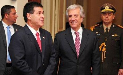 Cartes buscará limar asperezas con Uruguay para el Mundial 2030