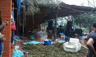 Casi 60 escuelas afectadas por el temporal