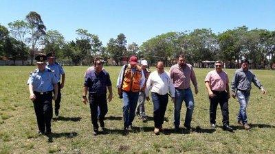 Verifican daños tras temporal en Caaguazú