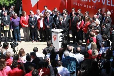 Colorado Añetete presenta sus candidaturas y vaticina victoria