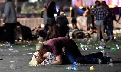 "Trump calificó de ""demente"" al tirador de Las Vegas que mató a 59 personas"