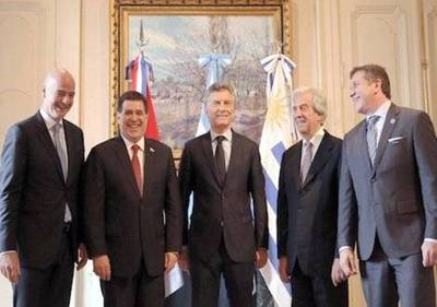 Mundial 2030: Argentina, Uruguay y Paraguay piden organizarlo en conjunto