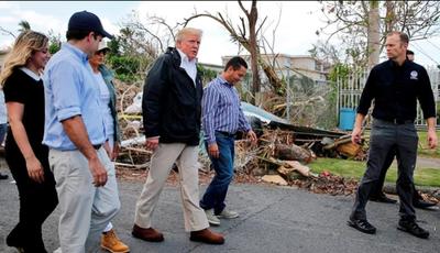 Trump pedirá US$ 29 mil millones para reconstrucción de Puerto Rico