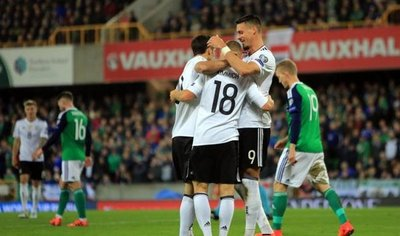 Alemania sella con claro triunfo en Belfast su clasificación a Rusia