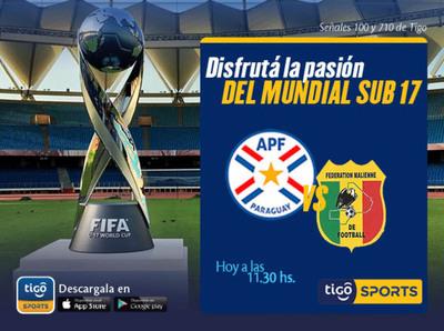 Paraguay debuta en la Copa del Mundo Sub 17