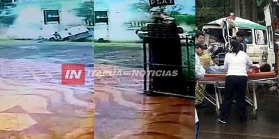IDENTIFICAN A VÍCTIMAS DEL VUELCO DE AMBULANCIA
