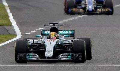 Lewis Hamilton consigue su pole 71, la primera en Suzuka