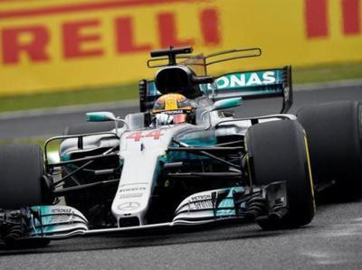 Hamilton consiguió la Pole en Japón