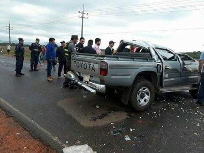 Pareja murió en accidente en Guairá
