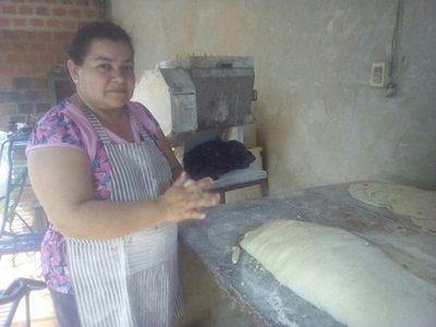 Ña Cristi se hizo famosa por sus prepizzas caseras