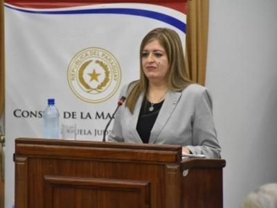 Sandra Quiñónez es la elegida de  Cartes para Fiscal General del Estado