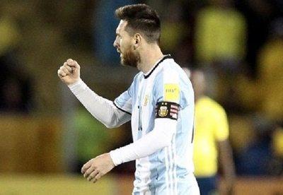 """Messi fue """"Dios"""" en la altura de Quito"""