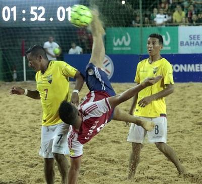 El gol de Carballo a Ecuador en las Eliminatorias puede ser el mejor de FIFA