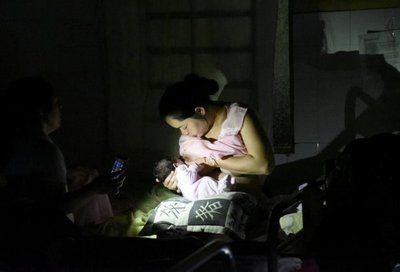 Sin luz en terapia infantil