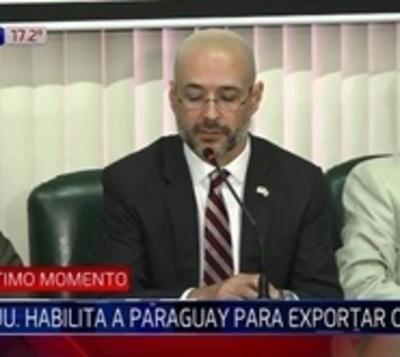 Paraguay ya está habilitado para exportar carne a EE.UU.