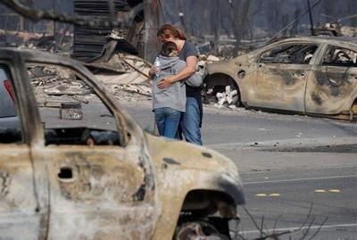 Incendios de California son los peores de la historia de EE.UU.
