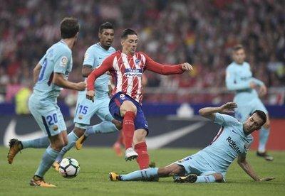 Barcelona empata frente al Atlético de Madrid