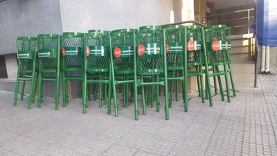 Comuna capitalina instala nuevos basureros