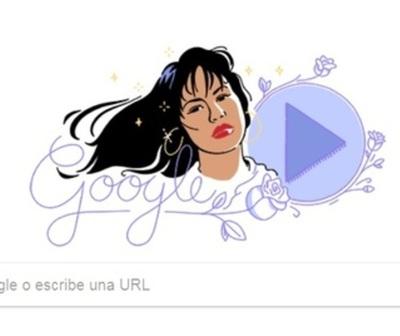"""Selena es homenajeada con su primer """"doodle"""" de Google"""