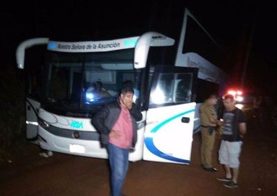 Podrían cancelar buses al Brasil por asaltos