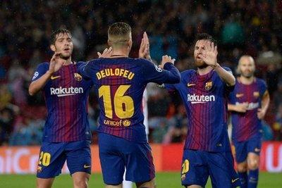 Barcelona mantiene paso perfecto en Champions