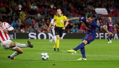 Barcelona camina firme en la Champions League; Messi anota