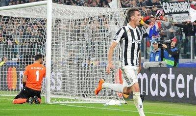 Juventus remonta al Sporting gracias a un gol de Mandzukic