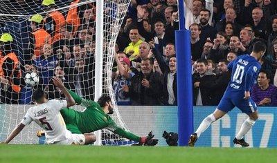 Chelsea y Roma empatan en partido loco