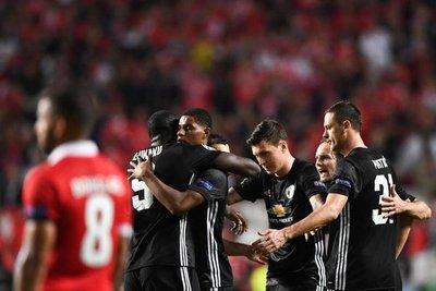 El United vence en Lisboa