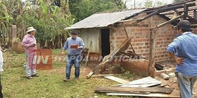 ASISTIERON A 80 FAMILIAS AFECTADAS POR EL TEMPORAL EN GRAL DELGADO.