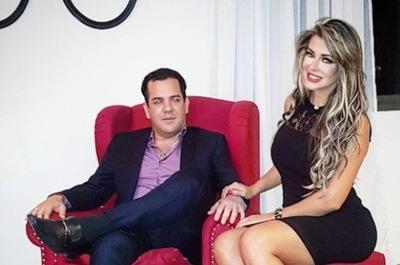 Marly Figueredo Celebro El Cumpleaños De Su Esposo Rodolfo Friedmann